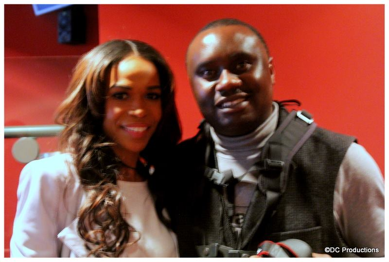 Davies Chirwa and Michelle Williams from Destiny's Child.
