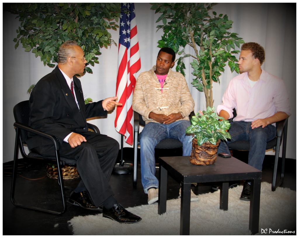 Teen Talk Show hosts Yoseph Diallo & Pastor Lowe