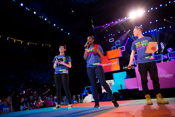 Youth Spark Kids on Stage