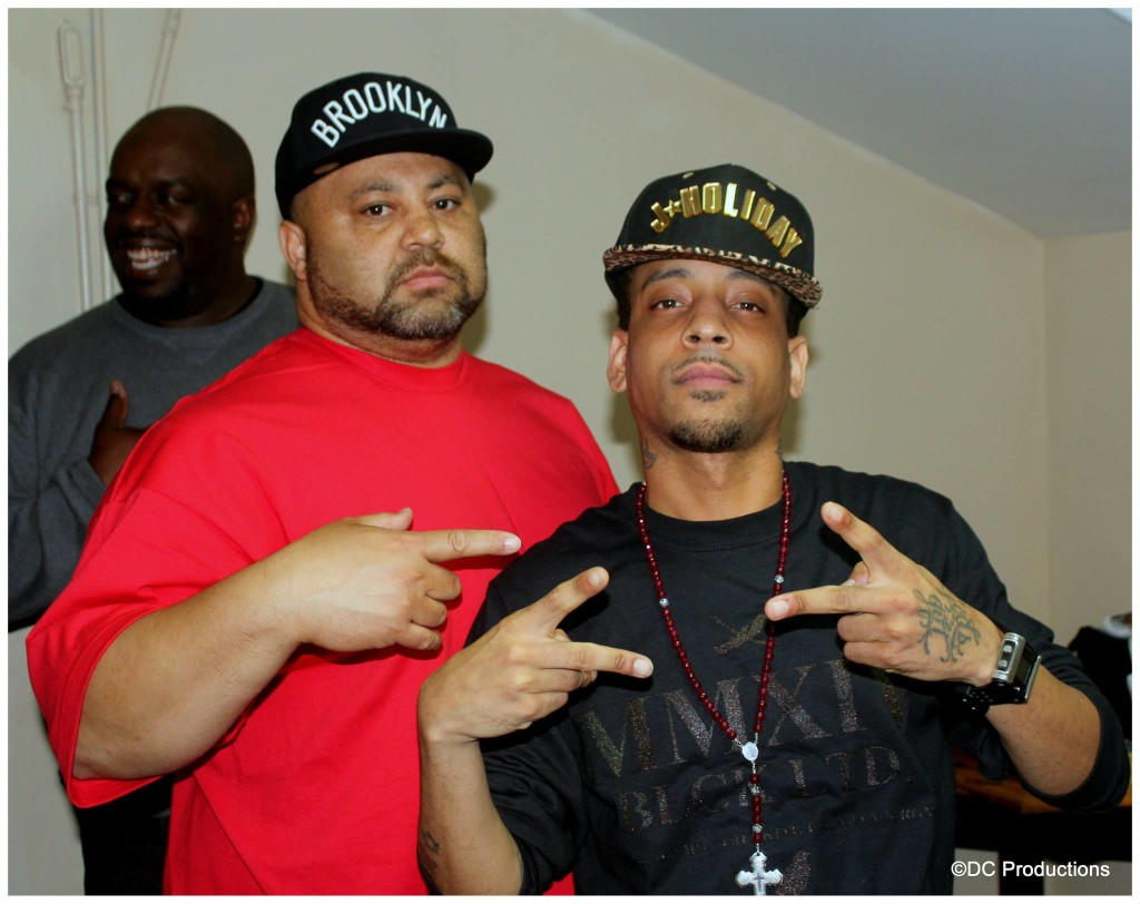 Ladies Night Out  Mega Producer Steve O. with R & B Super-Star J. Holiday