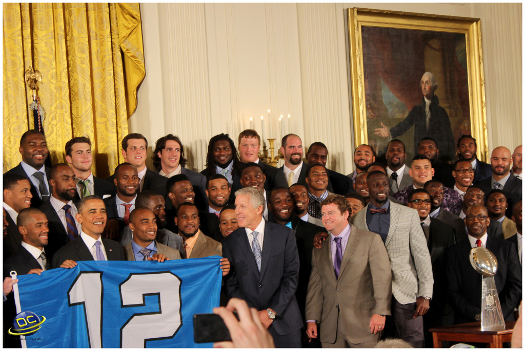 Channel A TV Special Report: President Obama congratulating the Seahawks