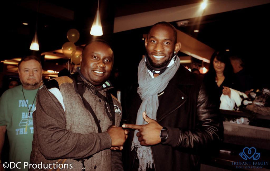 Davies Chirwa with Richardo Lockette