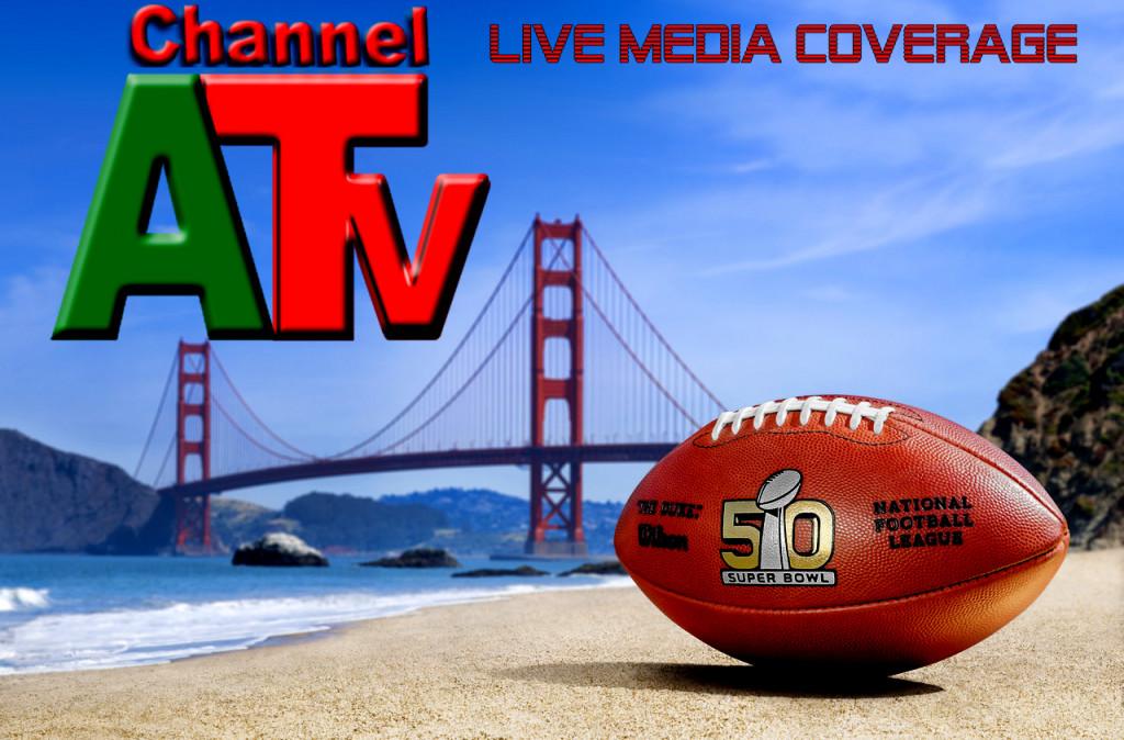 Channel A TV Super Bowl Live Media Coverage