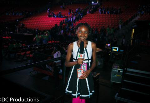 Thandi Chirwa at We Day Seattle 2016