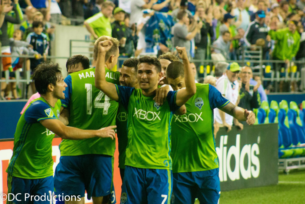 Channel A TV Covers Seattle Sounders Vs Portland Timbers