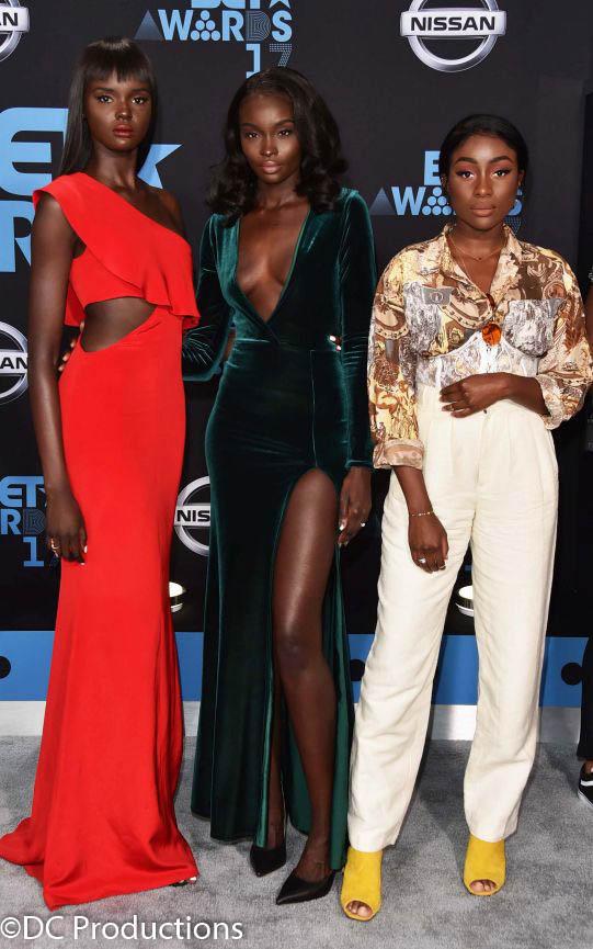 BET Awards Celebrity Red Carpet Channel A TV Caption